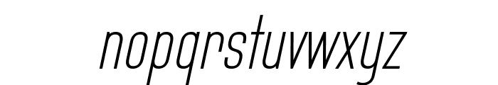 Bluefish Light Demo Italic Font LOWERCASE