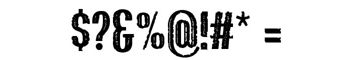 Bluefish_ERODED DEMO Font OTHER CHARS