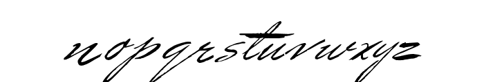 Bluelmin Benedict Font LOWERCASE