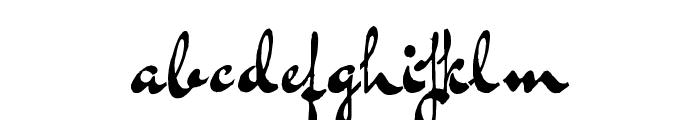 Bluelmin Kisaburo Font LOWERCASE