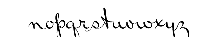 Bluelmin Ralph Font LOWERCASE