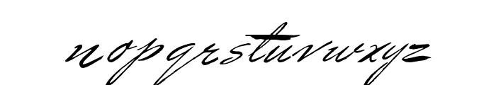 BluelminBenedict Font LOWERCASE