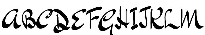 BluelminKisaburo Font UPPERCASE