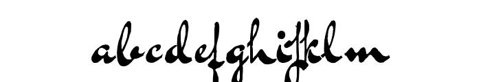 BluelminKisaburo Font LOWERCASE