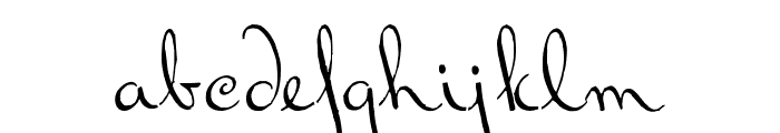 BluelminRalph Font LOWERCASE