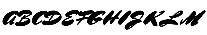 BluelminRonald Font UPPERCASE