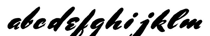 BluelminRonald Font LOWERCASE