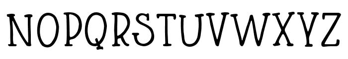Blueshire Regular Font UPPERCASE