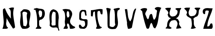 Blufunken side A Font LOWERCASE