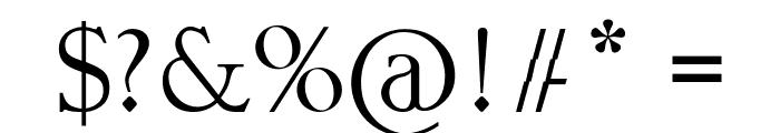 Blunder Sticky Bold Font OTHER CHARS