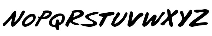 Blunter Font UPPERCASE