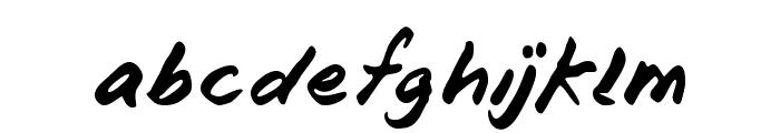 Blunter Font LOWERCASE