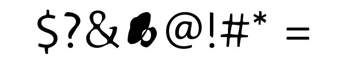Blurmix Font OTHER CHARS
