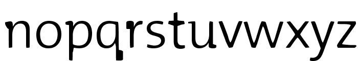 Blurmix Font LOWERCASE