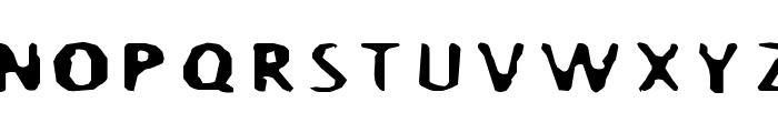 BlurrdWide Font UPPERCASE