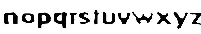 BlurrdWide Font LOWERCASE