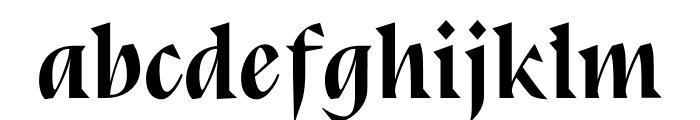 Bluu Next Bold Italic Font LOWERCASE