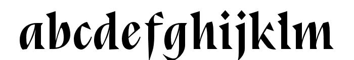 BluuNext-BoldItalic Font LOWERCASE