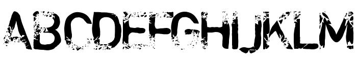 blabloosy Medium Font UPPERCASE