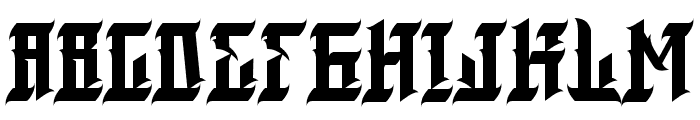 blackmagic Font UPPERCASE