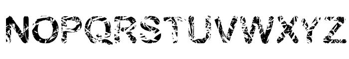 blambu Font UPPERCASE