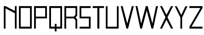 blank-Regular Font UPPERCASE