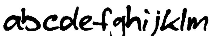 blzee Font LOWERCASE