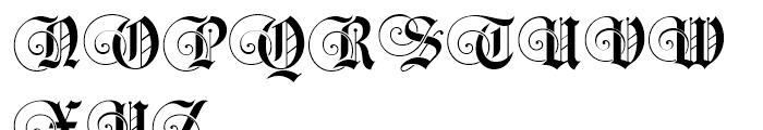 Black Swan BF Regular Font UPPERCASE