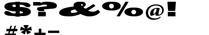 Blackoak Regular Font OTHER CHARS