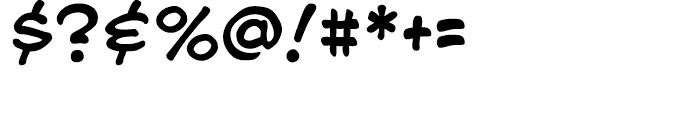 Blah Blah Blah Regular Font OTHER CHARS