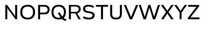 Blanc Regular Font UPPERCASE