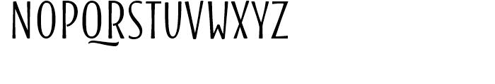 Blend Bold Font UPPERCASE