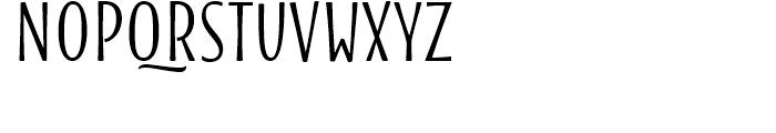 Blend Caps Bold Font LOWERCASE