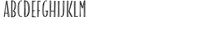 Blend Caps Condensed Inline Font UPPERCASE