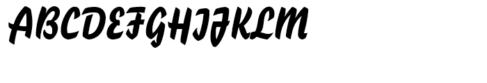 Blizzard Standard D Font UPPERCASE