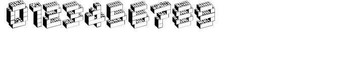 Block Party NF Regular Font OTHER CHARS
