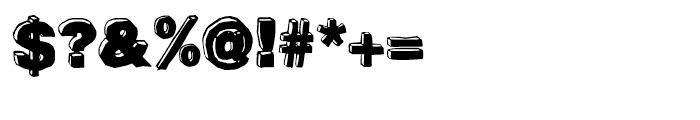 BlockDog Front Font OTHER CHARS