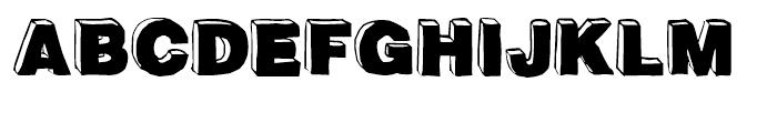 BlockDog Front Font UPPERCASE