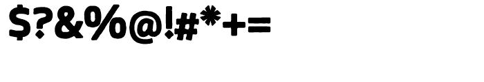 Blocksta Regular Font OTHER CHARS