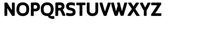 Blocksta Regular Font UPPERCASE