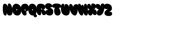 Blow Up Sans Font UPPERCASE