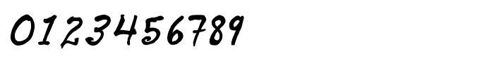 Blue Goblet Bold Oblique Font OTHER CHARS