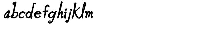 Blue Goblet Bold Oblique Font LOWERCASE