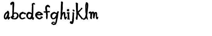 Blue Goblet Bold Font LOWERCASE