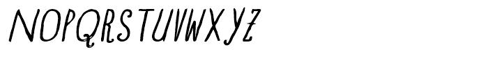 Blue Goblet Drawn Normal Regular Italic Font UPPERCASE