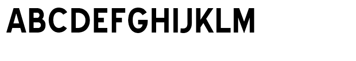 Blue Highway Bold Font UPPERCASE