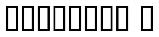 Black Label Whiskey Regular Font OTHER CHARS