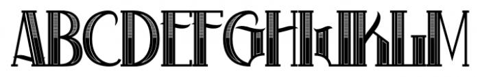 Black Label Whiskey Regular Font UPPERCASE
