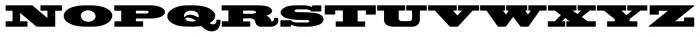 Blackoak® Std Regular Font UPPERCASE