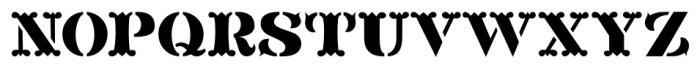 Blacksmith JNL Regular Font LOWERCASE